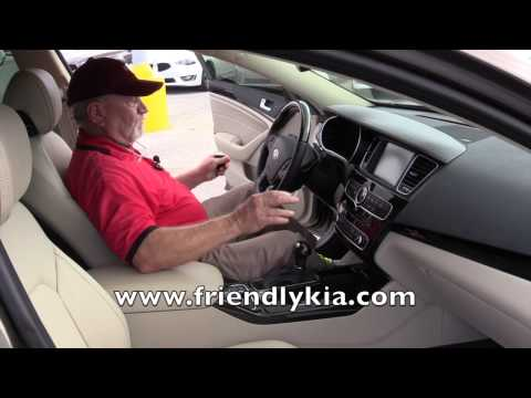 2015 Kia Cadenza Luxury vehicle full size 4 door sedan Friendly Kia in Tampa Bay area, FL