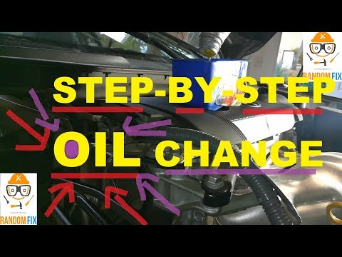 How to Change Your Oil (Step-by-Step Directions) / HOW TO CHANGE MOTOR OIL