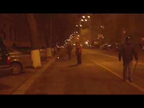 Ukraine civil war  Sniper shoot protester Kiev  dies