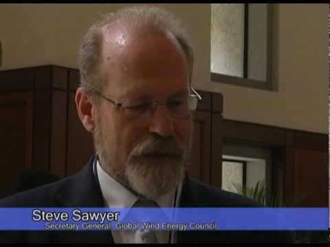 Steve Sawyer, Secretary General, Global Wind Energy Council.mpg