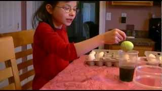 Carver Kids Coloring Easter Eggs (april 7, 2012) - Part 1