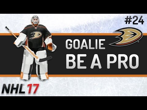 NHL 17 – Goalie Be a Pro #24 [Happy New Year!!]