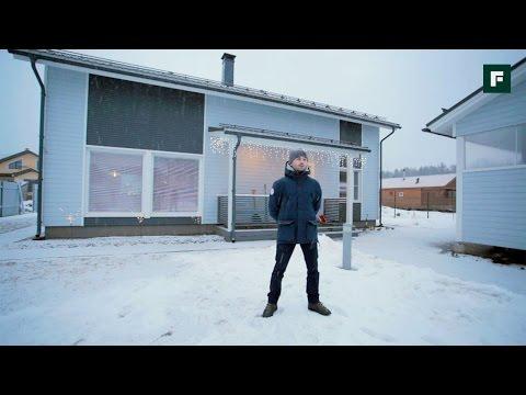 видео: Каркасный дом по финской технологии под ПМЖ // forumhouse