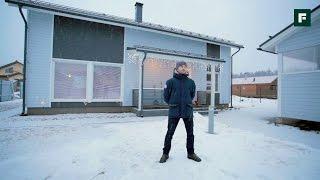 Каркасный дом по финской технологии под ПМЖ