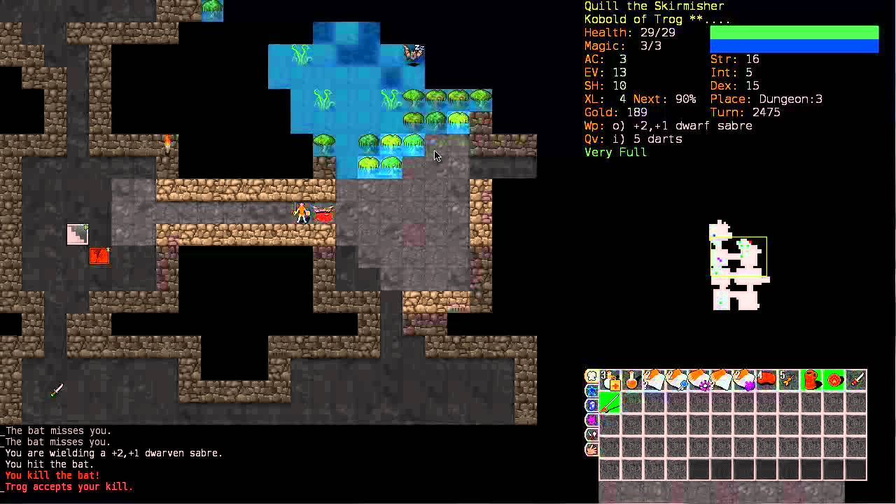 Let S Play Dungeon Crawl Kobold Berserker 2 Part 1