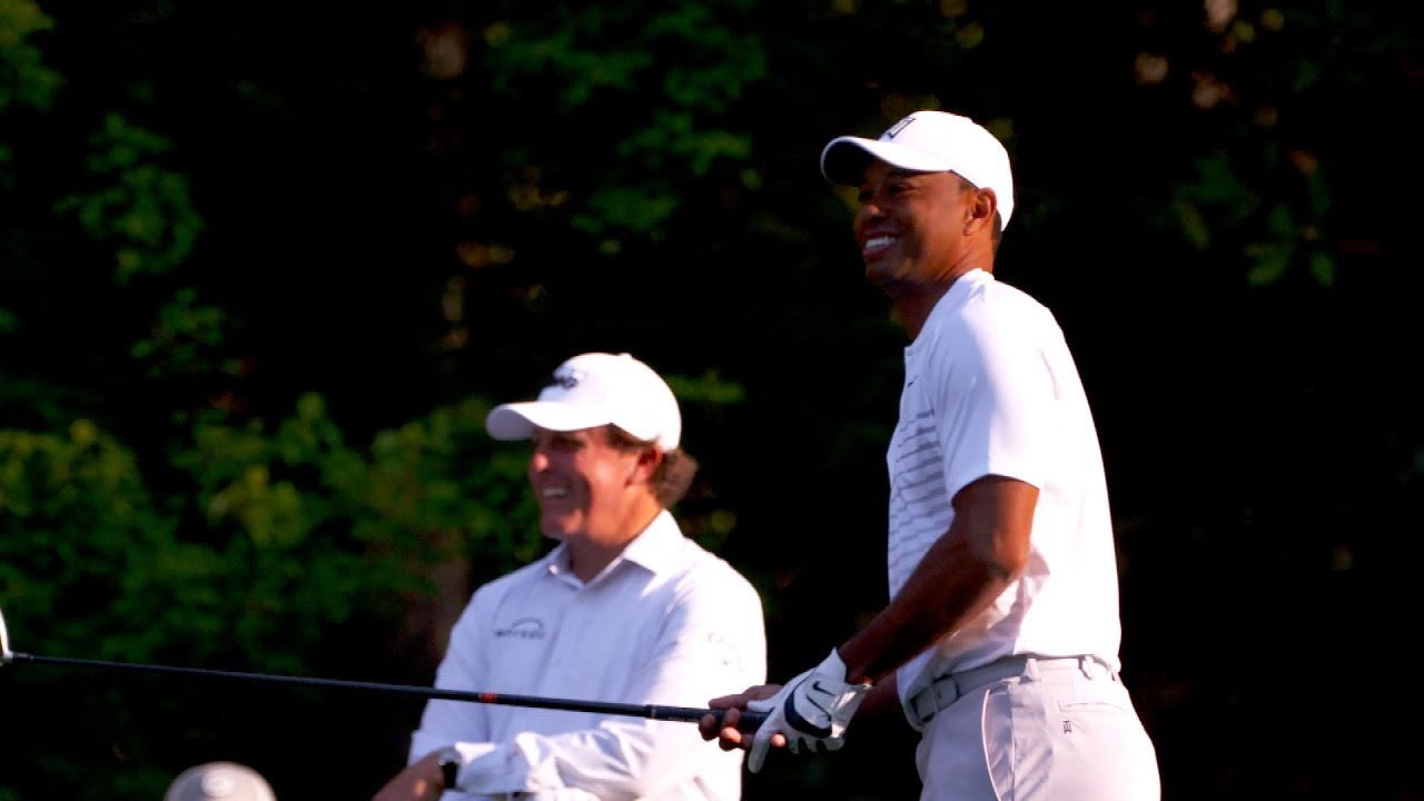 Tiger and Phil Thrill Augusta