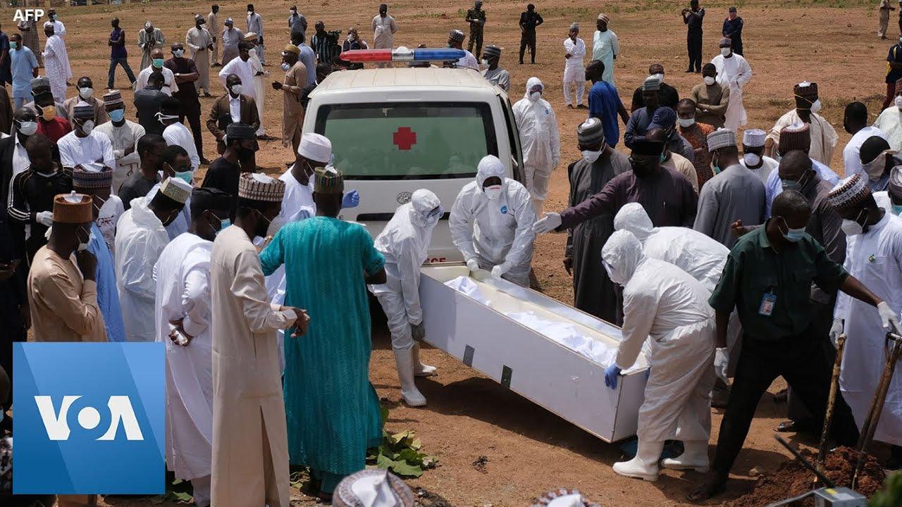 Download Nigeria Buries President Buhari's Top Aide, Who Died of Coronavirus