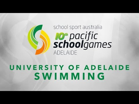 Pacific School Games - Swimming (night 3)