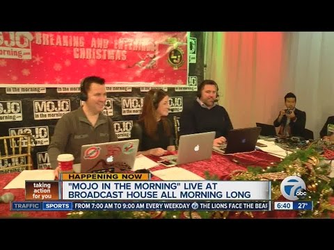 Mojo in the Morning live at Broadcast House all morning long