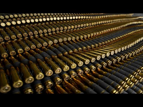 How the bullets are made in USA factories ? weaponry military power American  美國子彈工廠製作流程