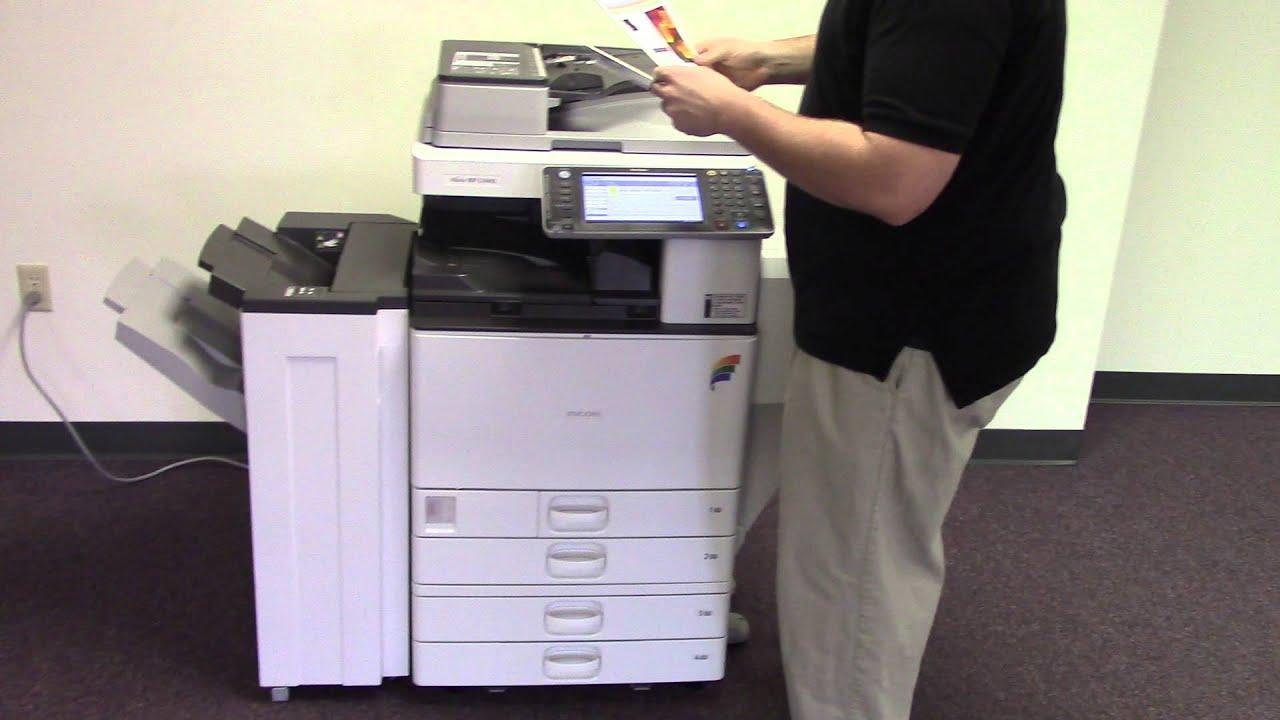 Ricoh Aficio MP C3002 Printer PCL6 Driver Download