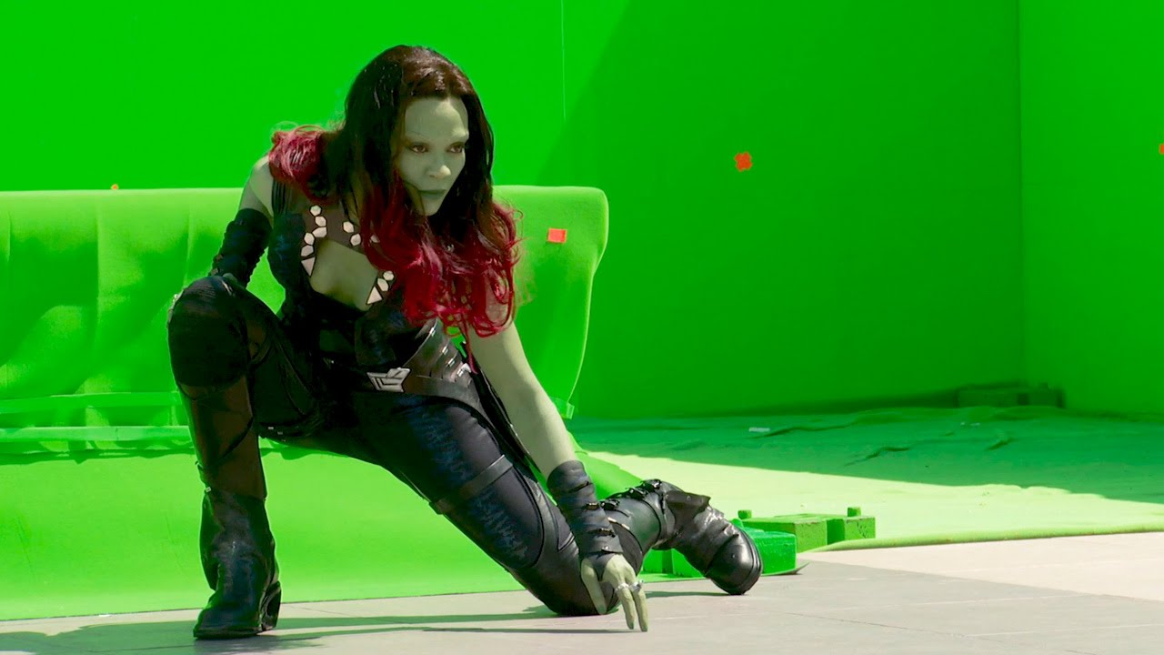 2 Behind The Scenes Of Guardians Of The Galaxy Youtube