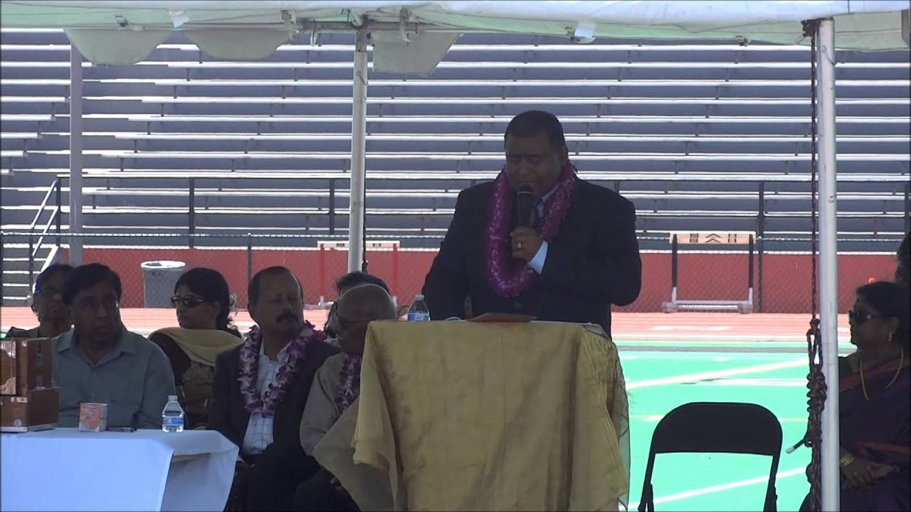 2014 USA Sangam Convention -Simon Gounder Speaker