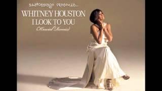 Whitney Houston vs Alicia Keys - I Look to You (AudioSavage