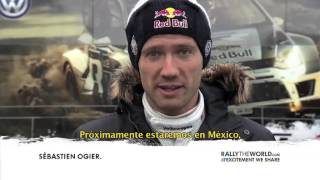 Carro # 8 Sébastien Ogier (Piloto) Julien Ingrassia (Co-piloto)