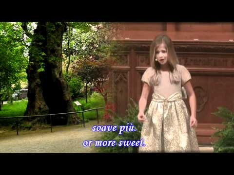 Ombra Mai Fu By Jackie Evancho With Lyric's And English Translation