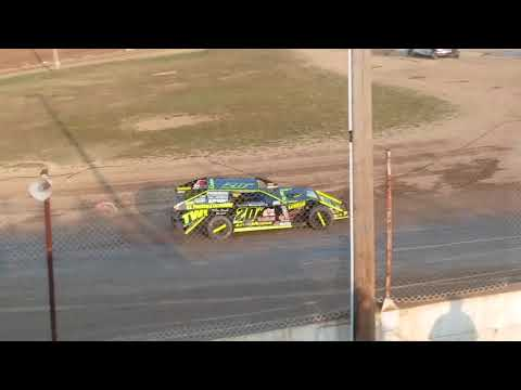 Aj Ward Racing #20w @ Crystal Motor Speedway 9/16/17 make up feature from 9/2/17 victorious #6 @CMS