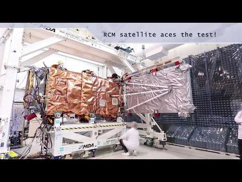 Meet some of the young engineers getting Canada's RADARSAT Constellation satellites ready for space!