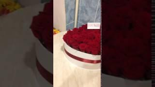 видео Букет из 19 роз — купить розовые розы с доставкой.