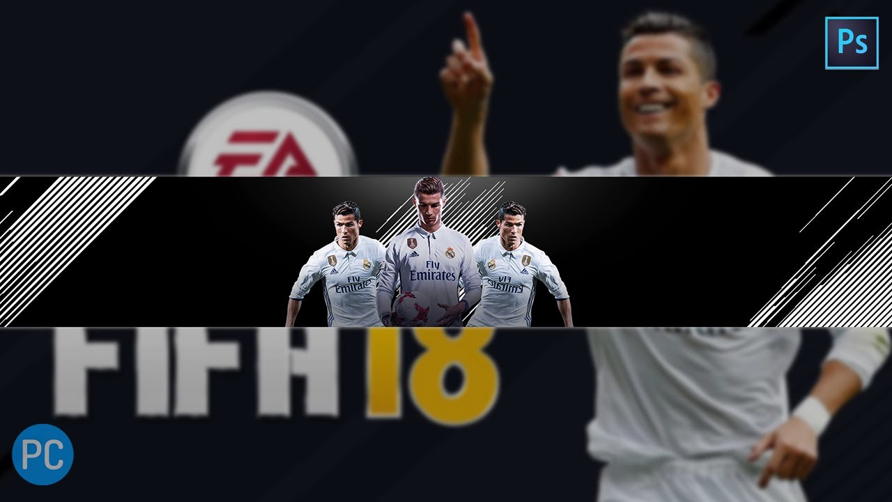 Fifa  Youtube Banner Template Photoshop Banner Template