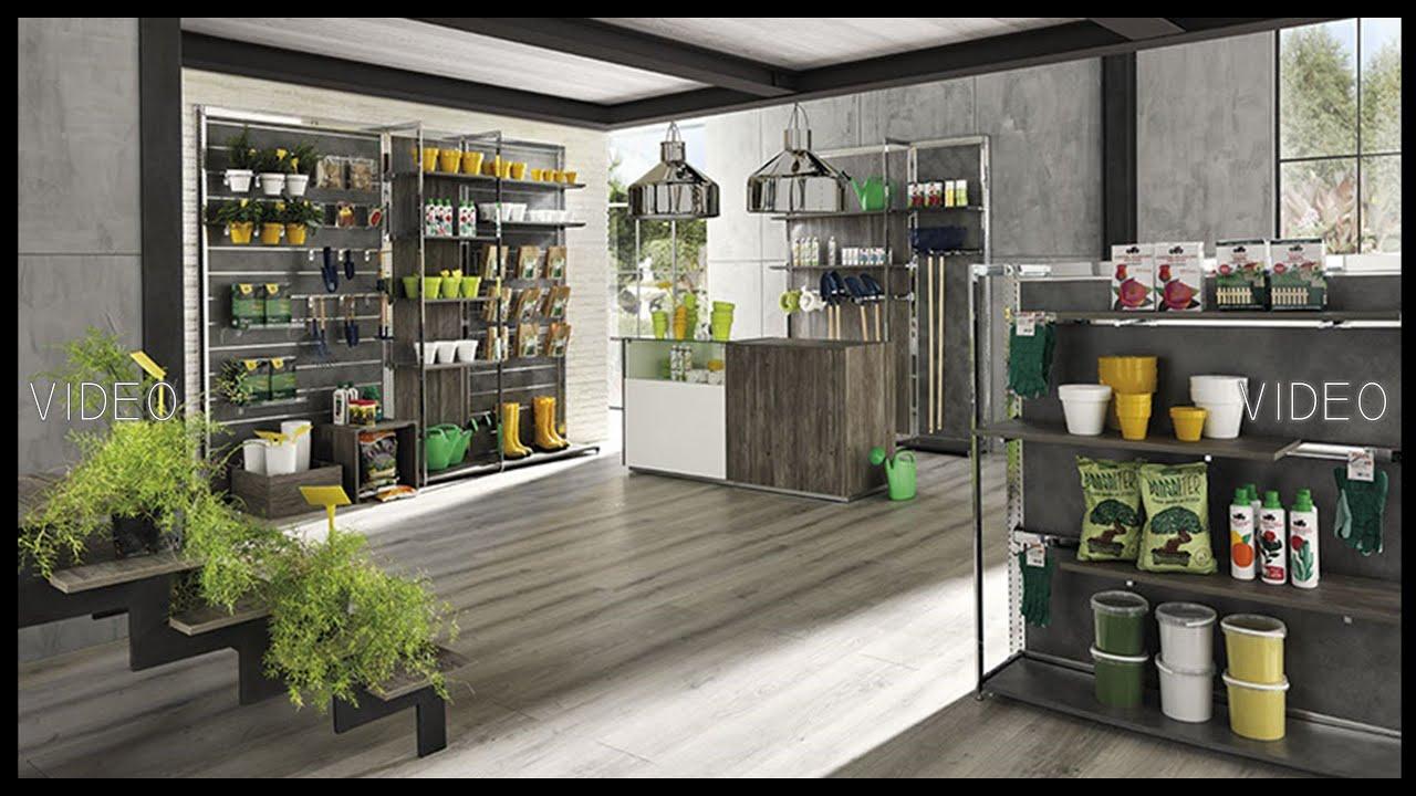 Arredamenti per negozi roma fioraio piante e fiori for Arredamento negozi