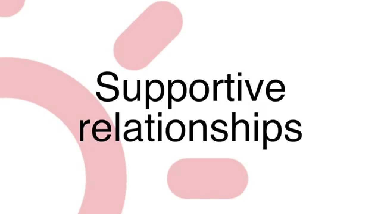 without close and supportive relationships it Matter, and what can be done to support healthy relationships between  without parents or specifi c primary caregivers (such as children in some orphanages) thus.