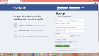 របៀបបង្កើតគណនេយ្យ Facebook?? How to create facebook account by Speak Khmer?