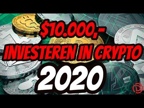 💰Investeren in Crypto 2020 met $10k | Doopie Cash