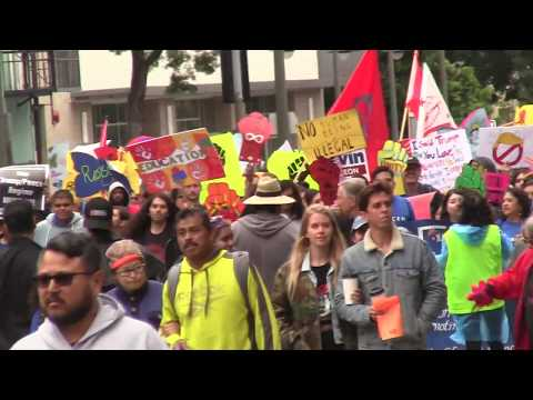 May Day March, Los Angeles, part 2, 5/1/2018