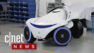 This security robot can detect weapons (CNET News)