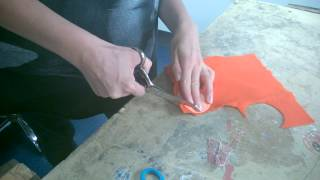 How to use fabric scissors correctly