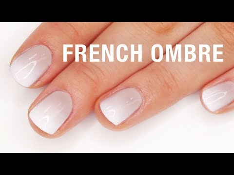 French Ombre Nail Tutorial