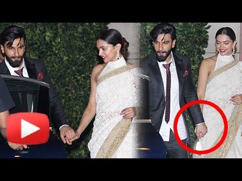Ranveer Singh Deepika Padukone Walk Hand In Hand, Put Breakup Rumors To Rest