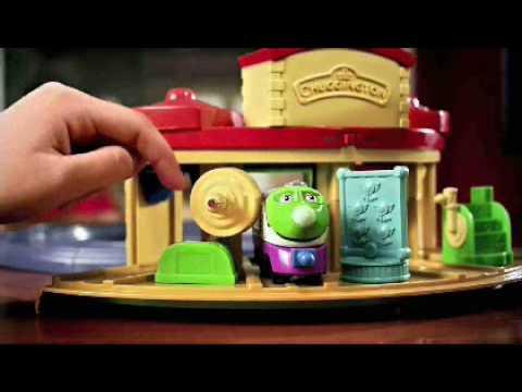 Chuggington Playset Toys R Us Youtube