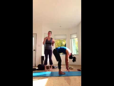 yoga therapy for back pain part 2  youtube