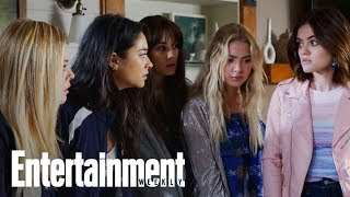 'Pretty Little Liars' Cast Reveals Series Finale Line That Made Them All Cry   Entertainment Weekly