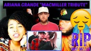 Ariana Grande - Breathin' Mac Miller Tribute REACTION!