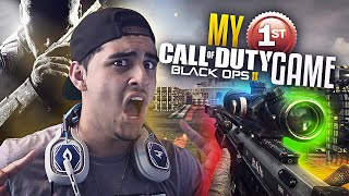 MY FIRST BLACK OPS 2 GAME!!