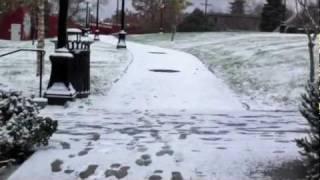 Winterized walk
