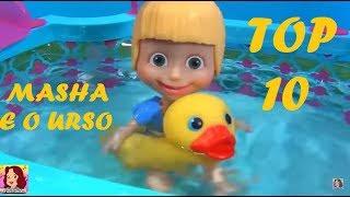 MASHA E O URSO TOP 10 Os DEZ mais vistos da Masha no canal #MASHA #MASHAEOURSO #ILOVEMASHA #TiaCris