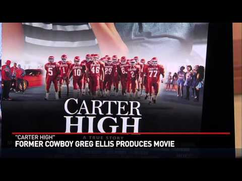 Former Cowboy Greg Ellis in Tyler for new movie Carter High