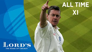 Dravid, Botham & Akram - Ashley Giles' All Time XI