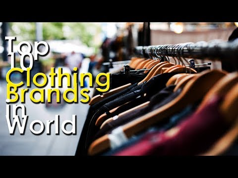 Top 10 Best Selling Clothing Brands in World