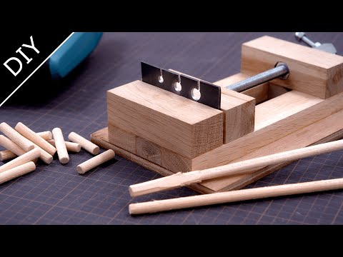 How to make a Dowels Maker