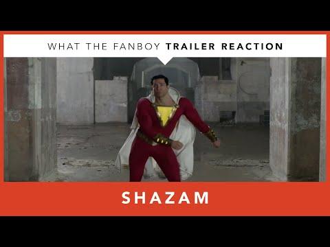 Shazam Trailer Reaction - Comic-Con