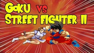 Goku VS Street Fighter 2