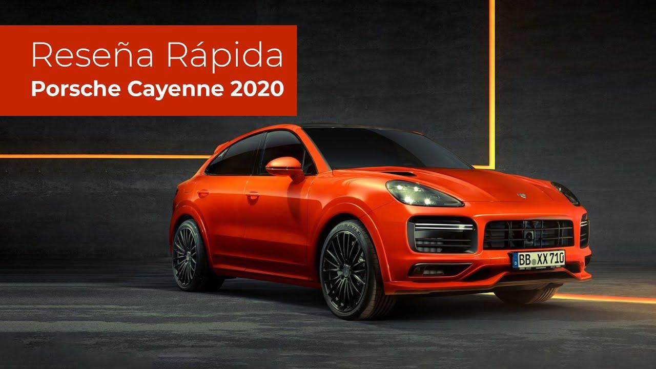 Reseña rápida Porsche Cayenne Turbo Coupe 4.0 2020