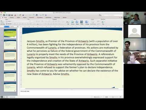 LAWS12070 Week 4 Tutorial: Statehood and Recognition in International Law