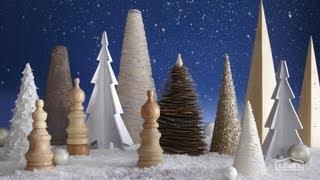 3d Wooden Holiday Tree