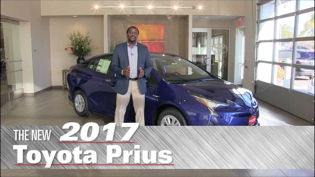 The New 2017 Toyota Prius Two Minneapolis St Paul Brooklyn Center Mn Review